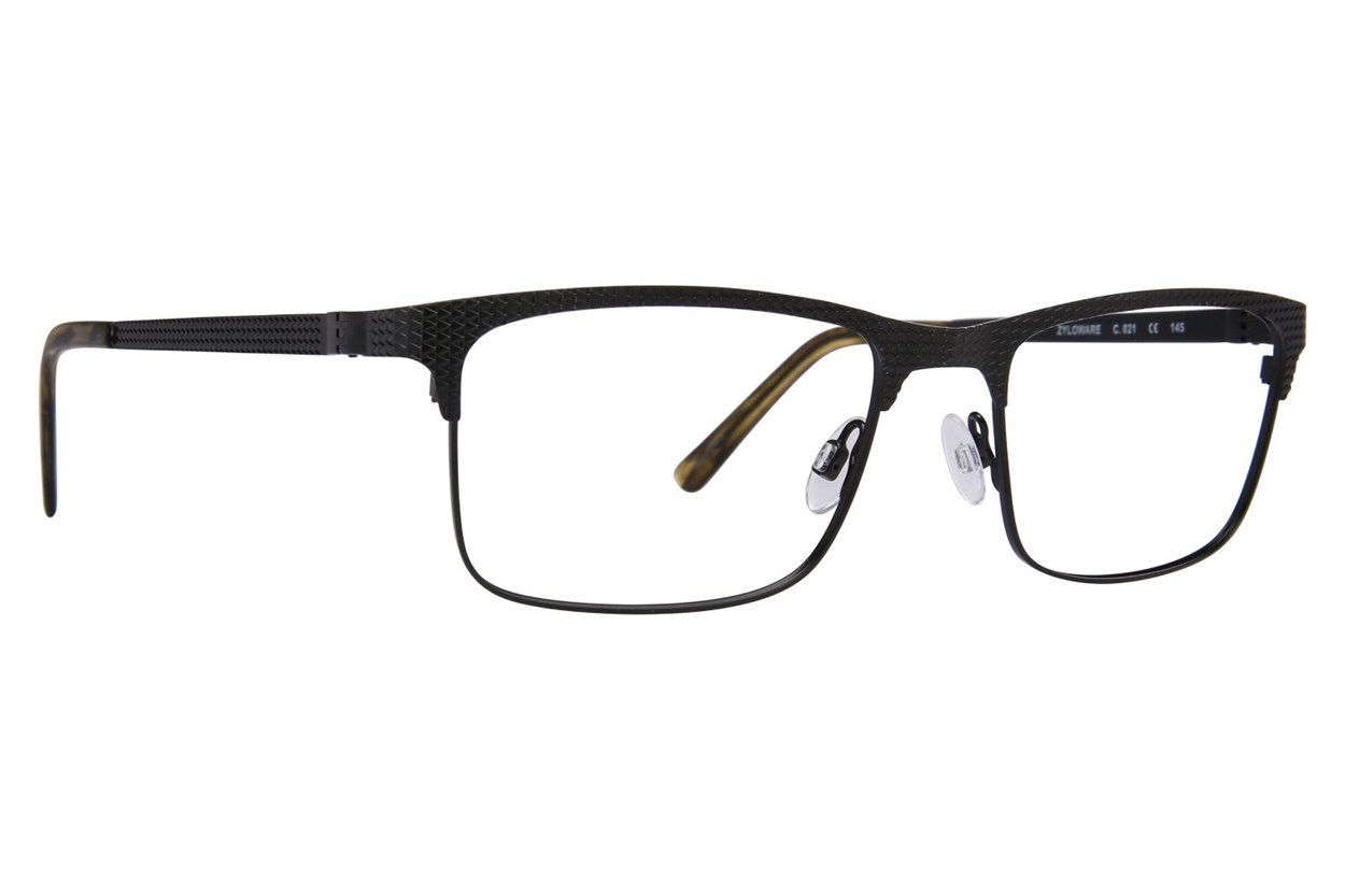 Randy Jackson RJ 1077 Black Eyeglasses