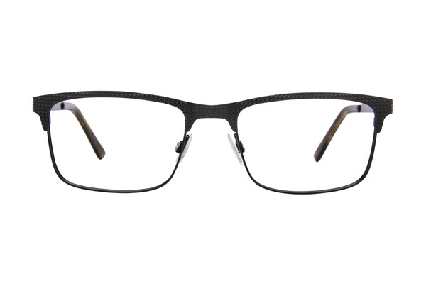 Randy Jackson RJ 1077 Black Eyeglasses