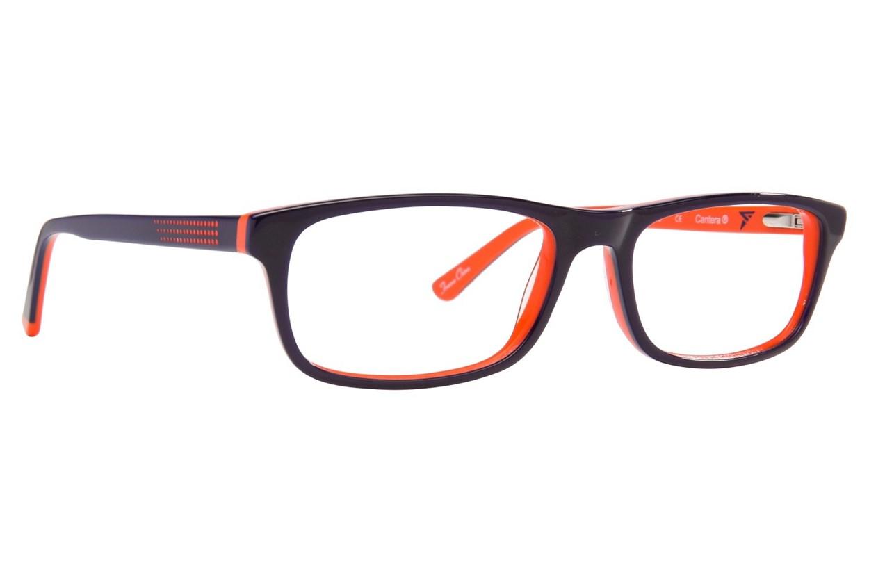 Cantera Curveball Orange Eyeglasses