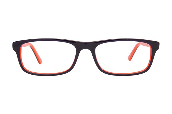 Cantera Curveball Orange Eyeglasses