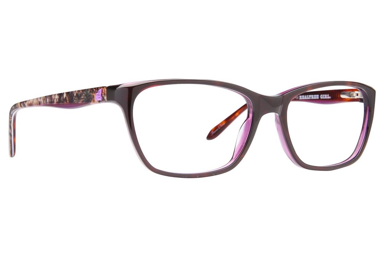 Realtree Girl G302 Purple Eyeglasses