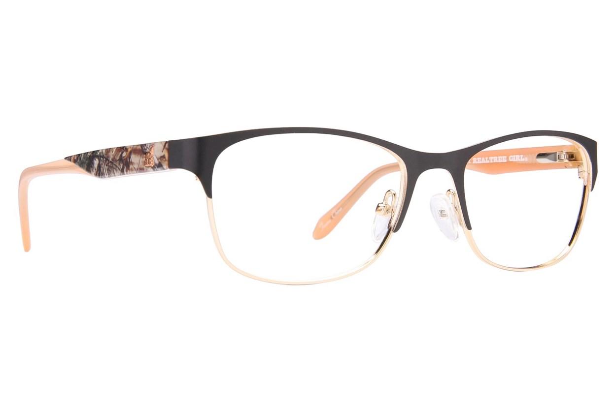 Realtree Girl G305 Black Eyeglasses