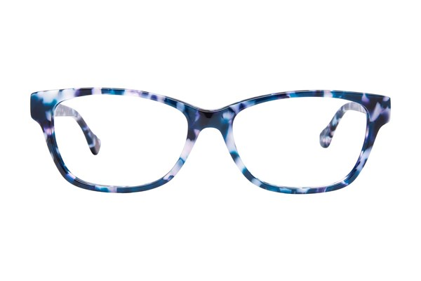 Hot Kiss HK64 Eyeglasses - Blue