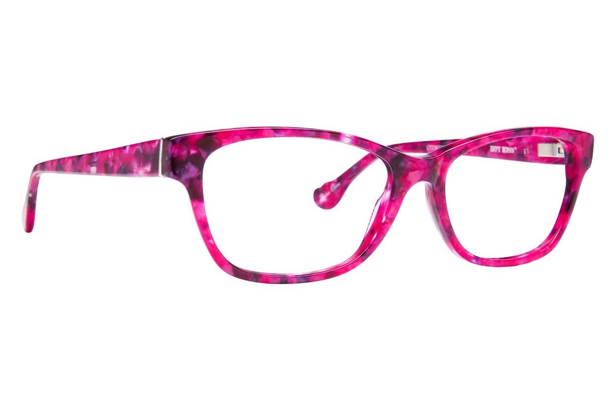 Hot Kiss HK64 Pink Eyeglasses
