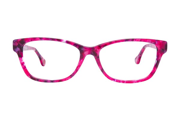 Hot Kiss HK64 Pink Eyeglasses