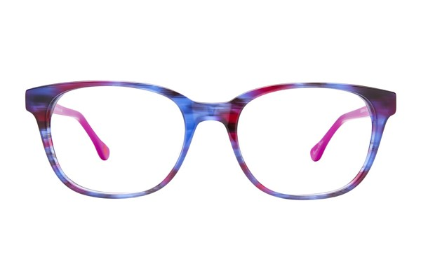 Hot Kiss HK65 Purple Eyeglasses