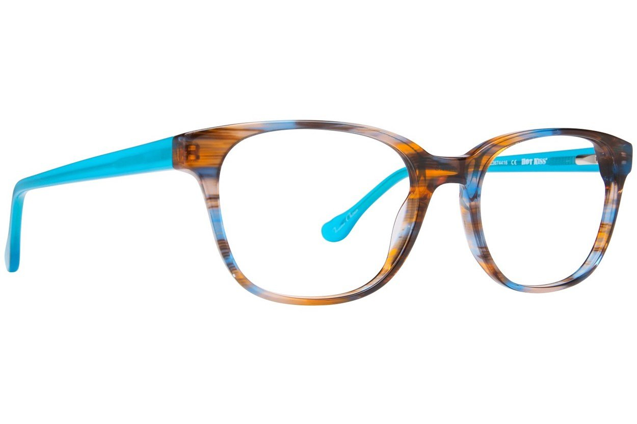 Hot Kiss HK65 Blue Eyeglasses