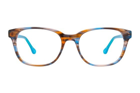 Hot Kiss HK65 Blue Eyeglasses