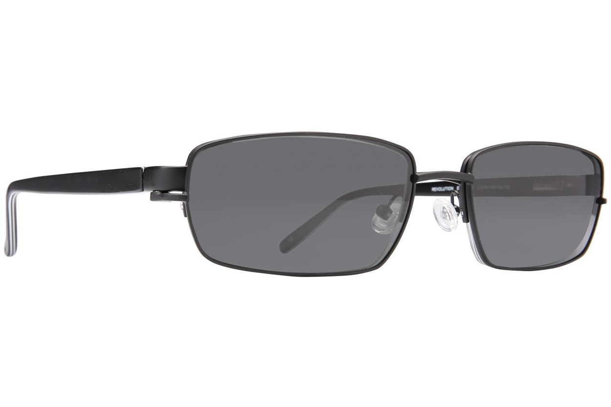 Alternate Image 1 - Revolution 582 Black Eyeglasses