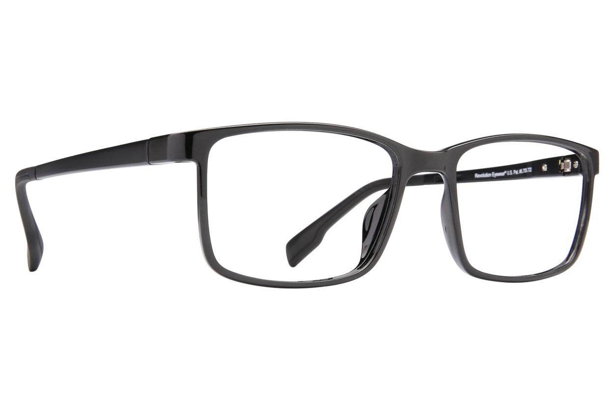 Revolution Fresno Black Eyeglasses