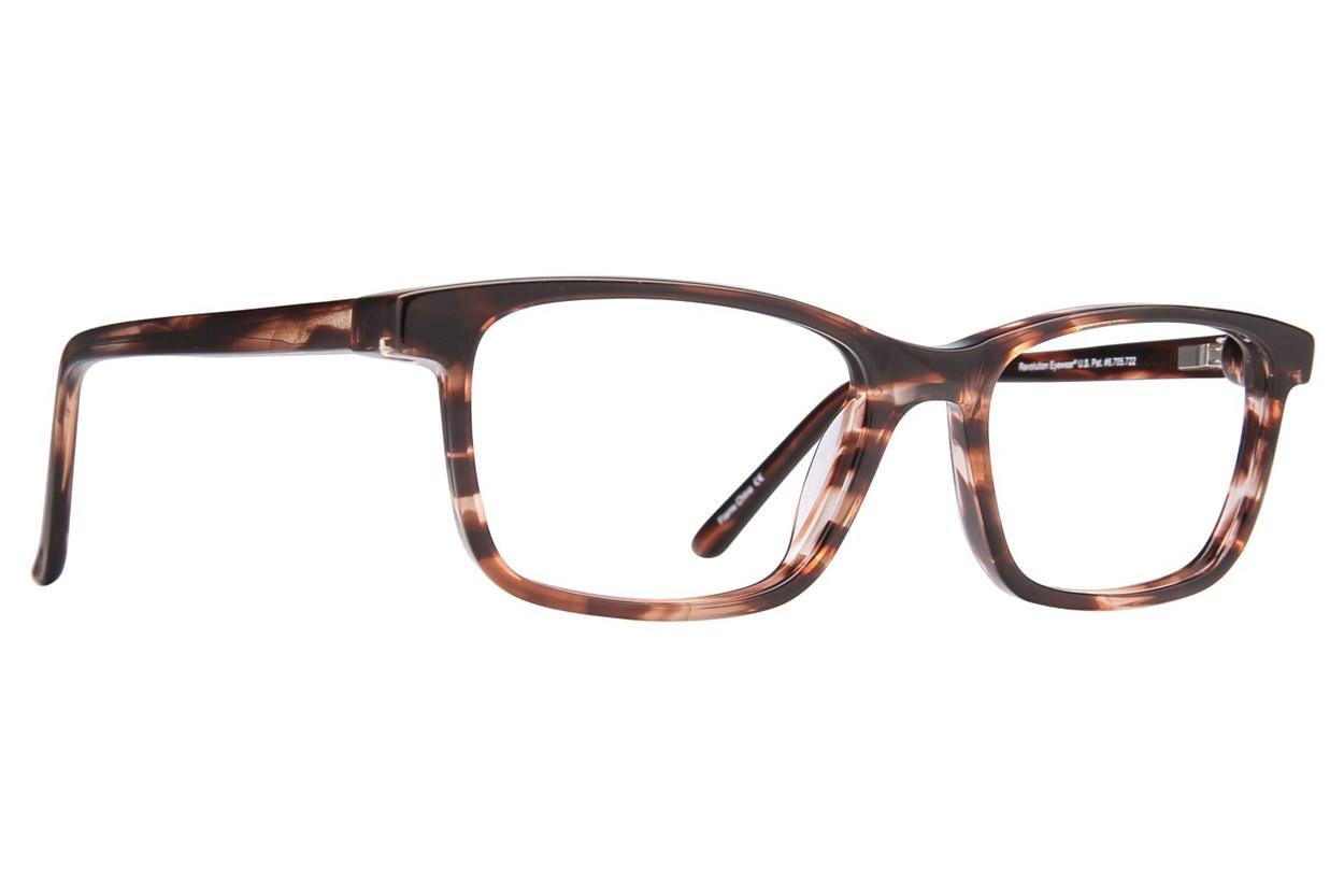 Revolution Hoboken Brown Eyeglasses