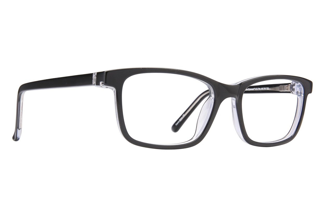 Revolution Hoboken Black Eyeglasses