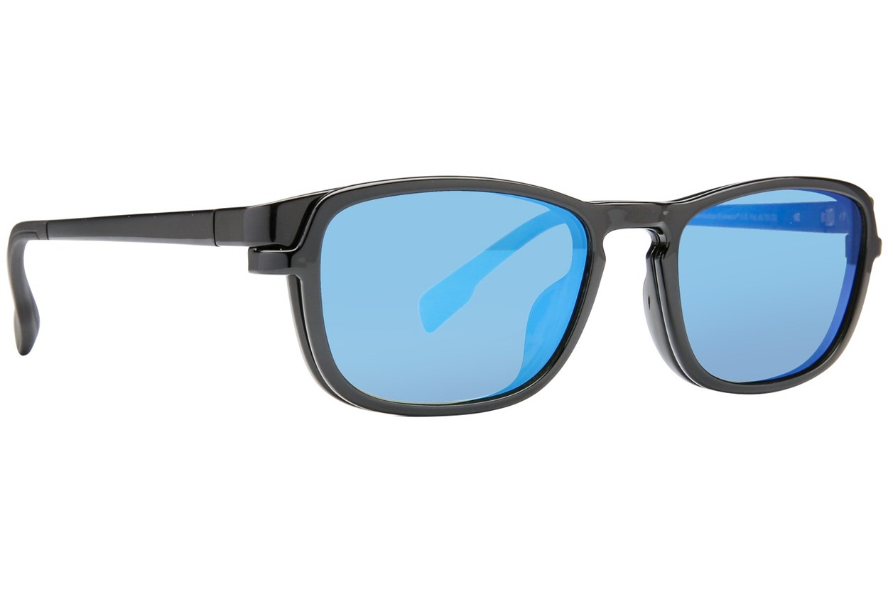 Alternate Image 1 - Revolution Nashville Black Eyeglasses