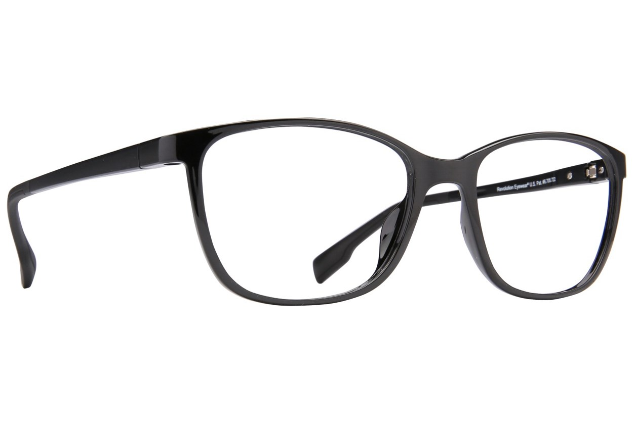 Revolution Portland Black Eyeglasses