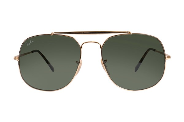 Ray-Ban® RB3561 General Gold Sunglasses