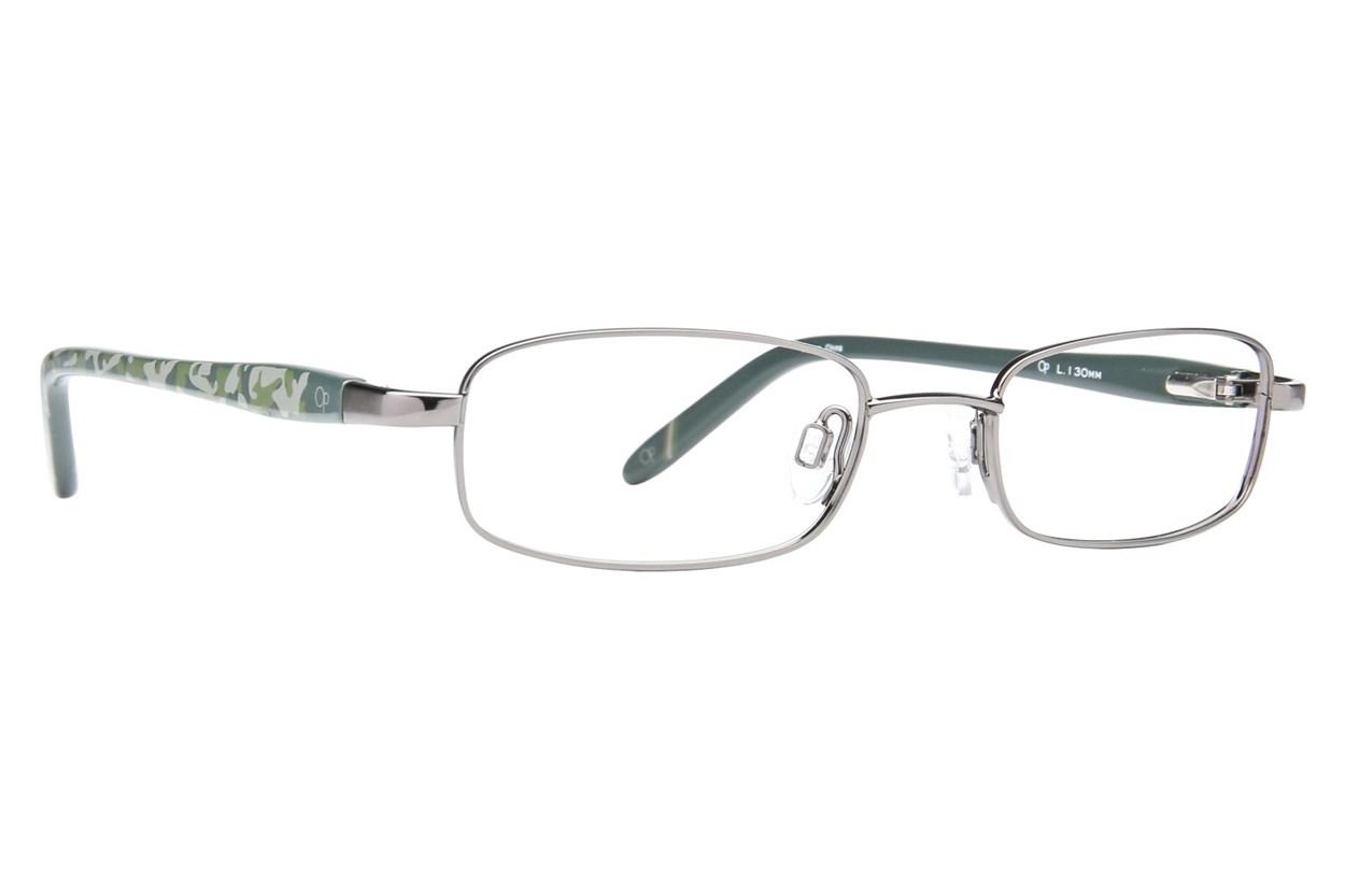 Ocean Pacific 808 Gray Eyeglasses
