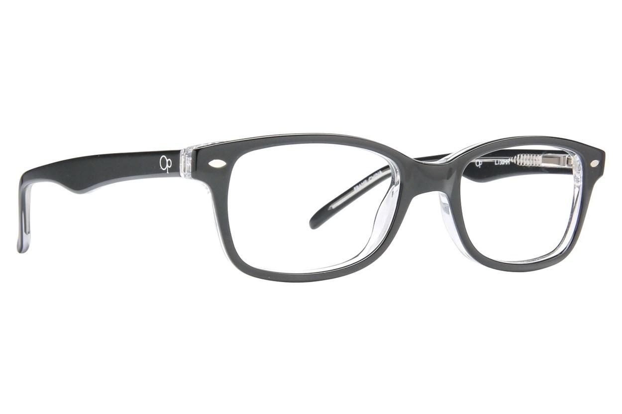 Ocean Pacific 817 Black Eyeglasses