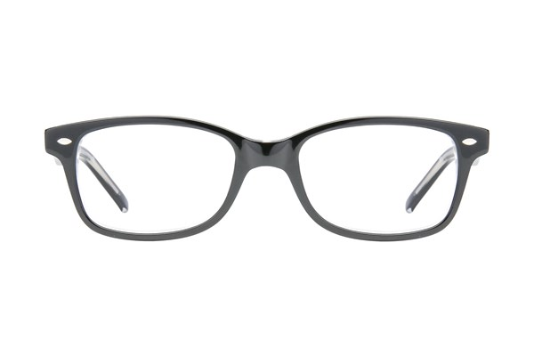 Ocean Pacific 817 Black Eyeglasses