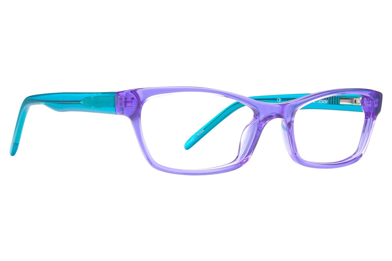 Ocean Pacific 843 Purple Eyeglasses