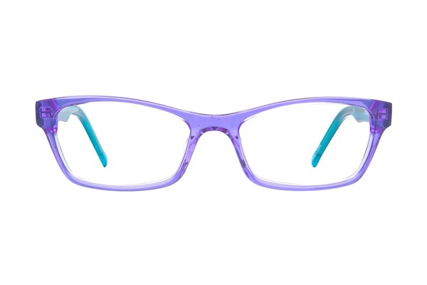 Ocean Pacific 843 Eyeglasses - Purple