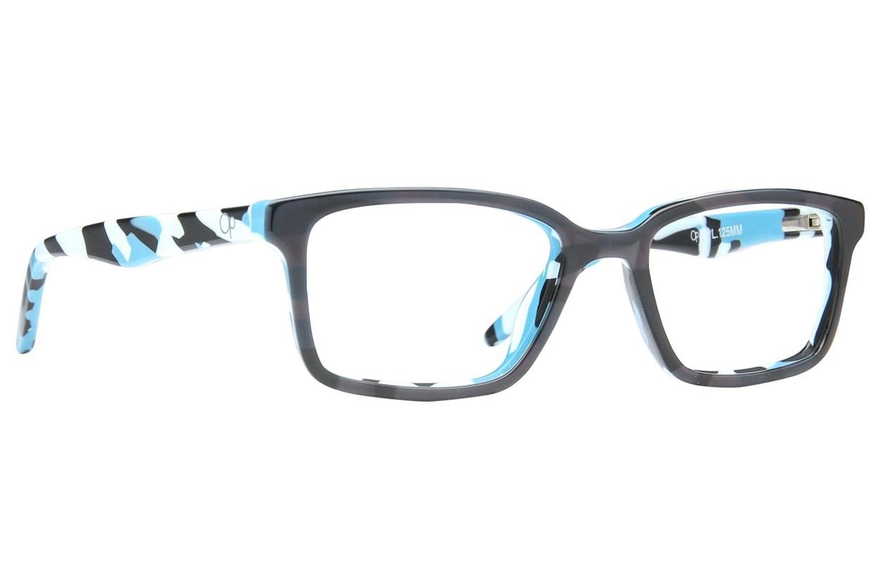 Ocean Pacific 847 Brown Eyeglasses