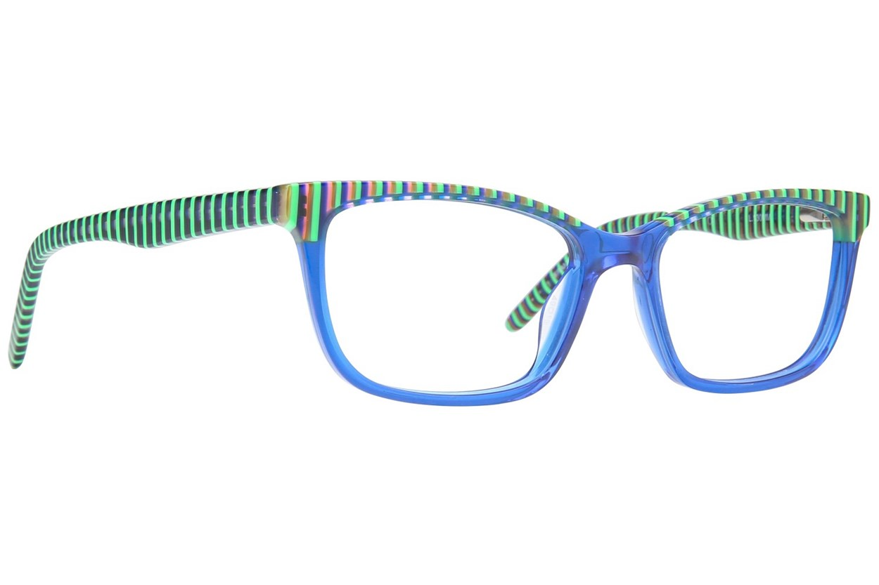 Ocean Pacific 848 Eyeglasses - Blue