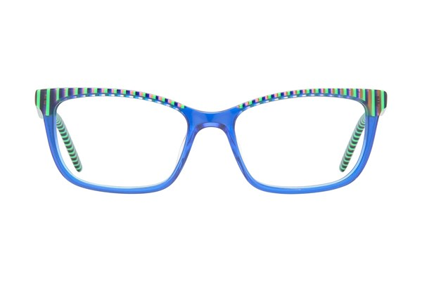 Ocean Pacific 848 Blue Eyeglasses