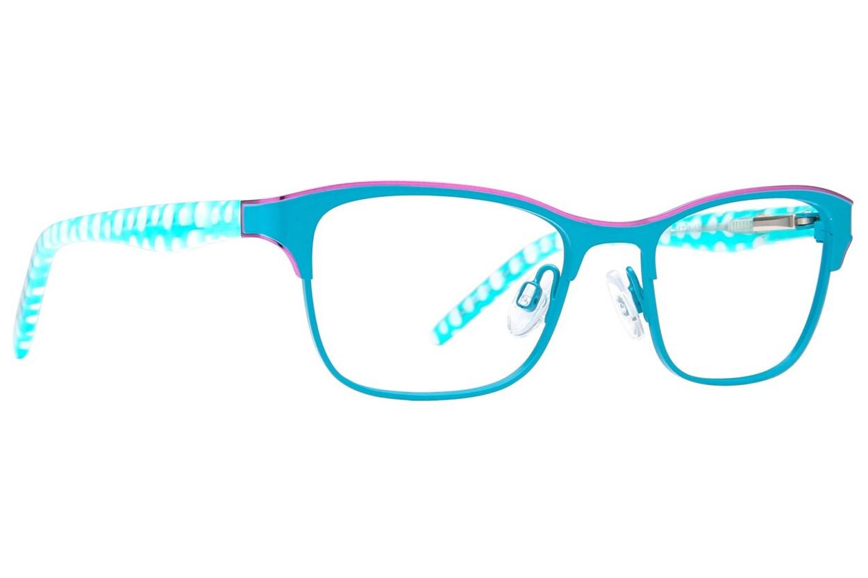 Ocean Pacific 851 Turquoise Eyeglasses