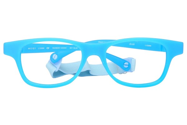 dilli dalli Rainbow Cookie Blue Eyeglasses
