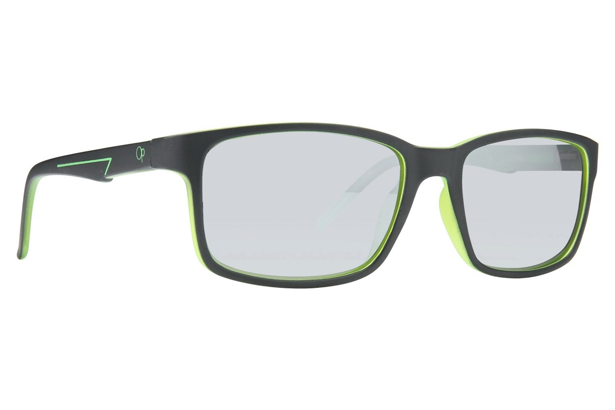 Ocean Pacific Blasted Sunglasses - Black
