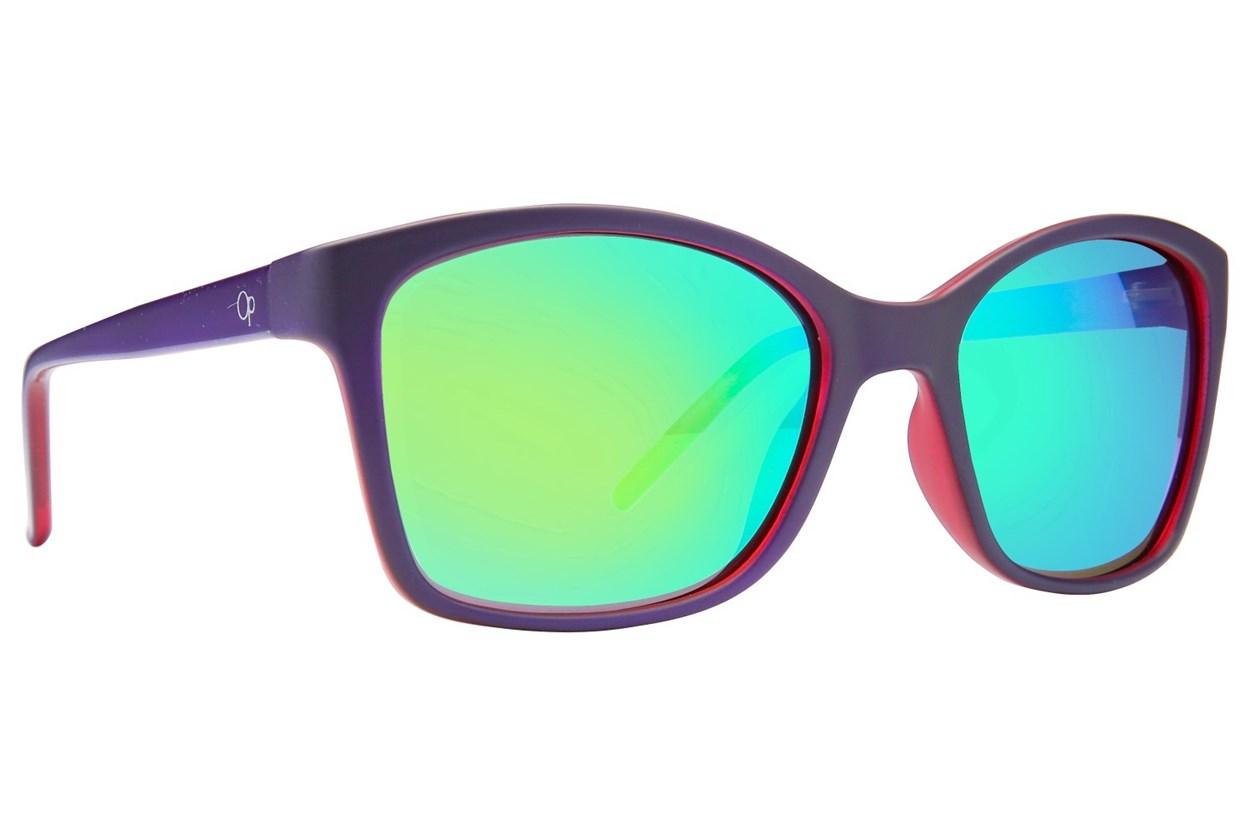 Ocean Pacific Howlee Purple Sunglasses