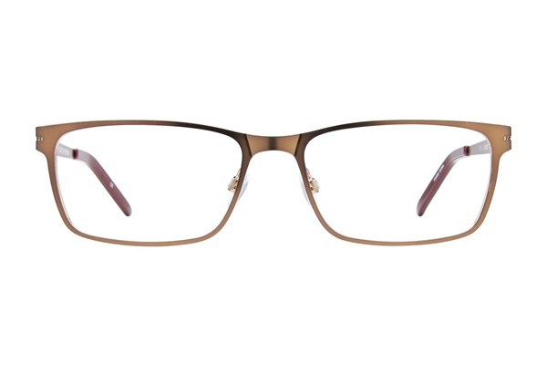 Ocean Pacific Clutch Brown Eyeglasses