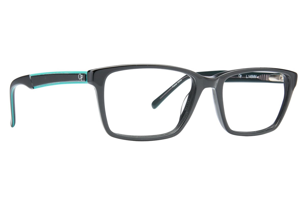 Ocean Pacific Eagle Beach Black Eyeglasses