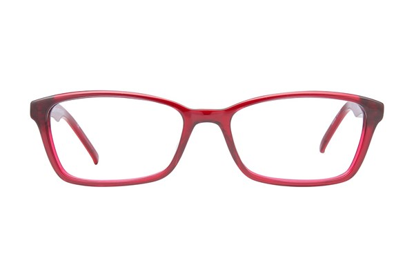 Ocean Pacific Flamenco Beach Eyeglasses - Red