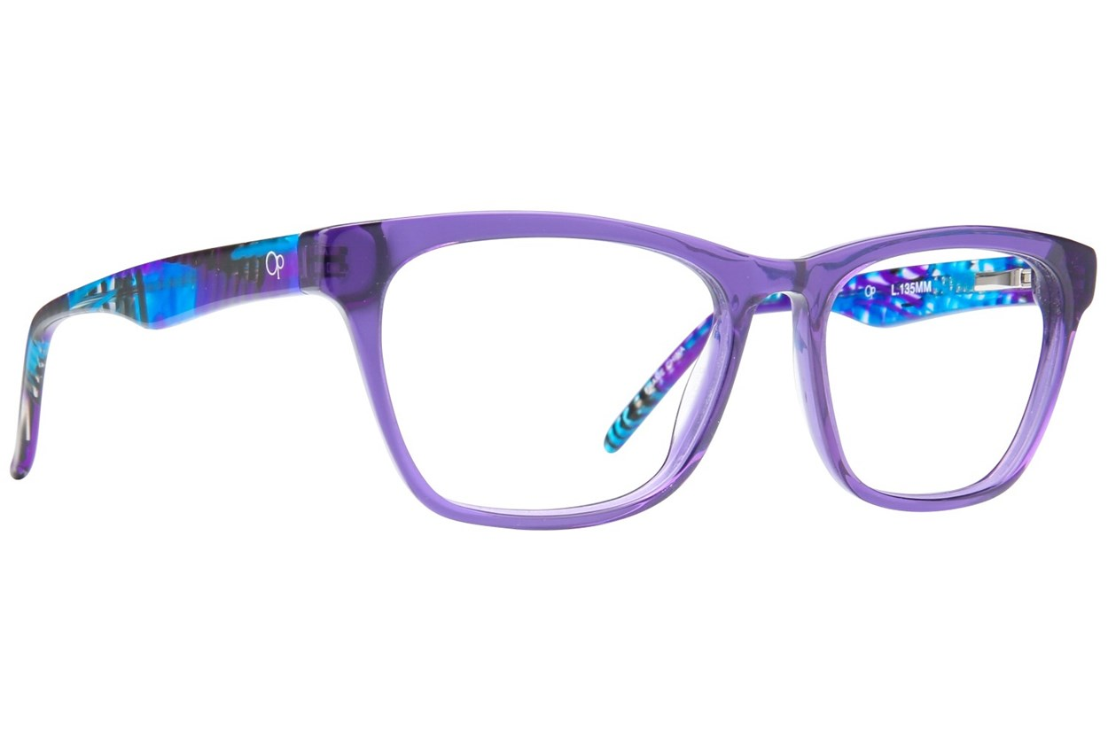 Ocean Pacific Manhattan Beach Eyeglasses - Purple