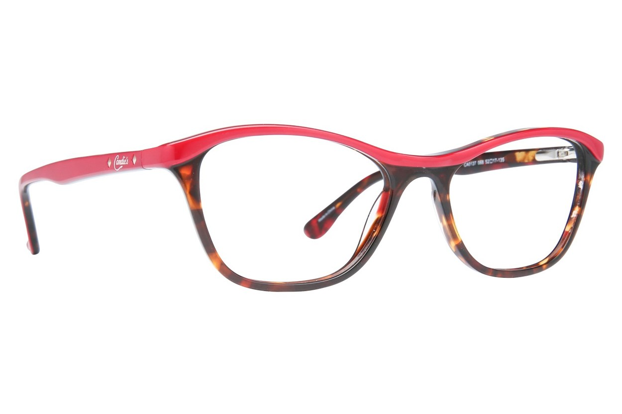 Candie's CA0137 Red Eyeglasses