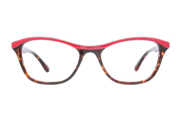 Candie's CA0137 Red Eyeglasses
