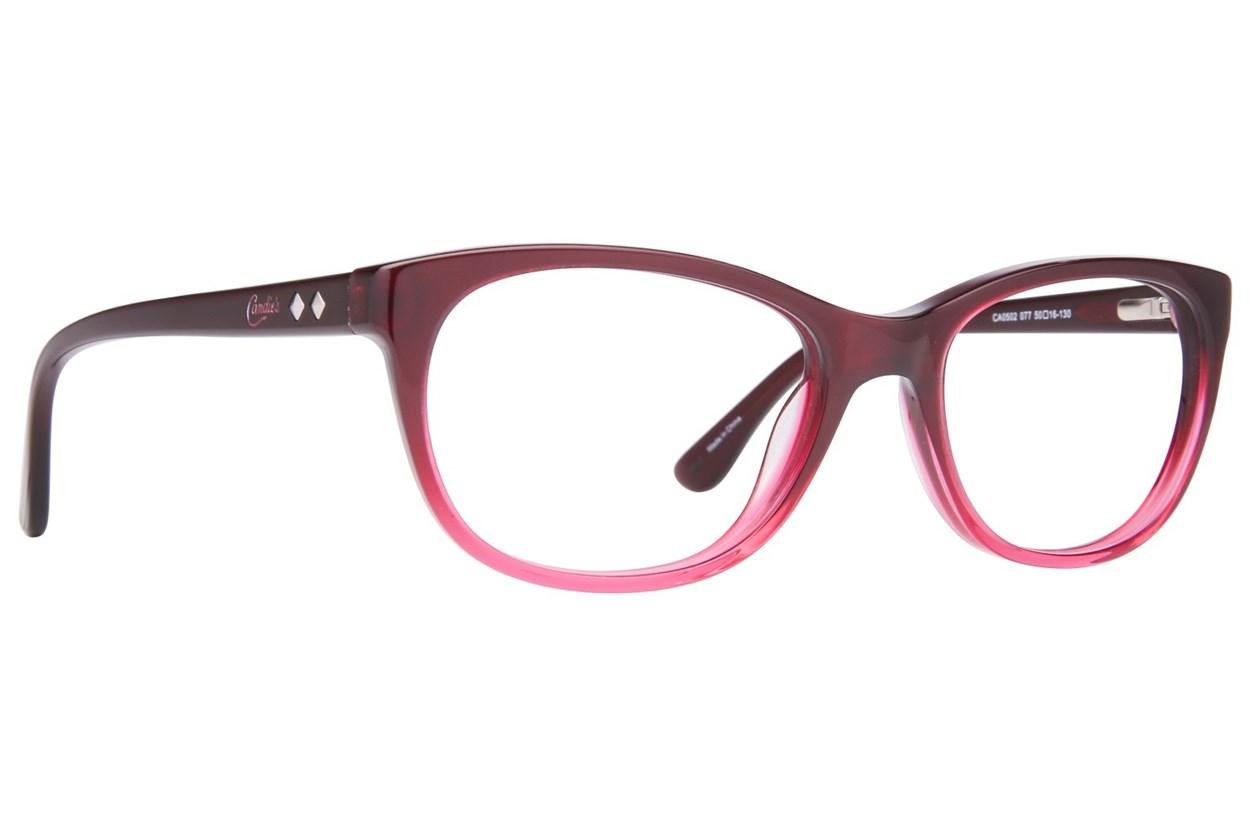 Candie's CA0502 Pink Eyeglasses