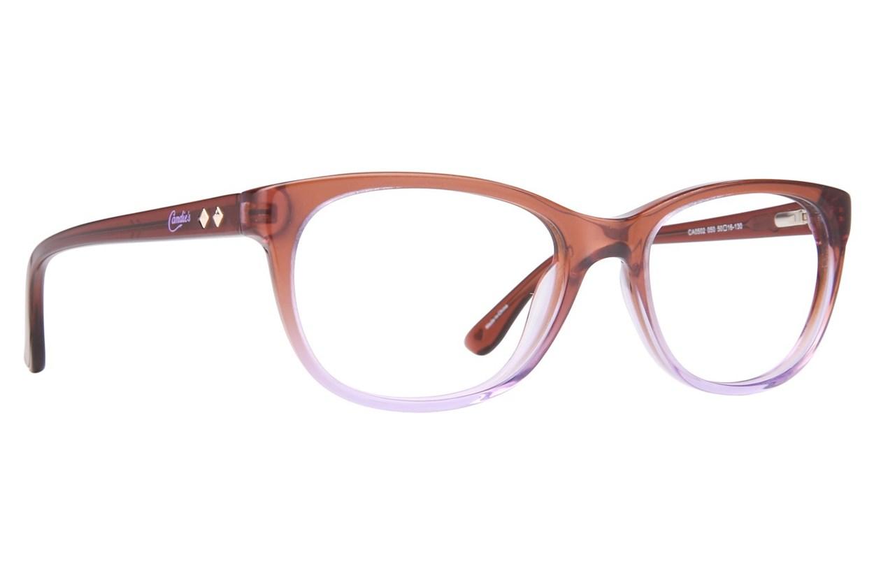 Candie's CA0502 Brown Eyeglasses