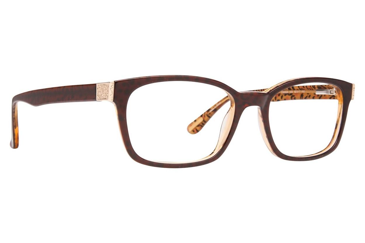 Covergirl CG0529 Brown Eyeglasses
