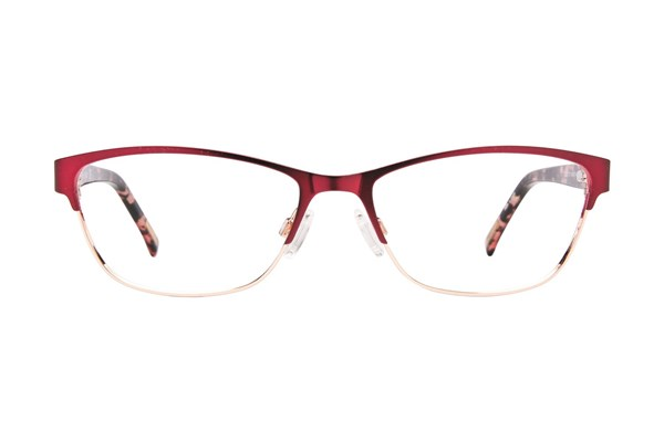 Covergirl CG0537 Eyeglasses - Wine