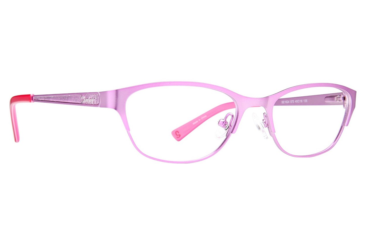 Skechers SE1624 Pink Eyeglasses