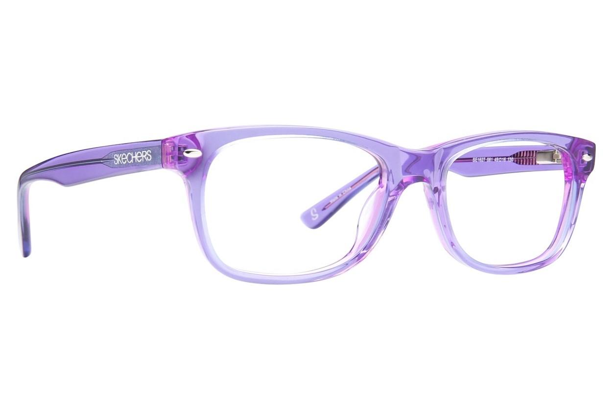 Skechers SE1627 Purple Eyeglasses