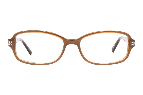 Viva VV0322 Brown Eyeglasses
