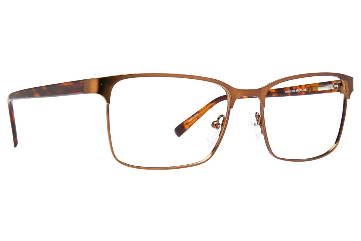 Viva VV4021 Brown Eyeglasses