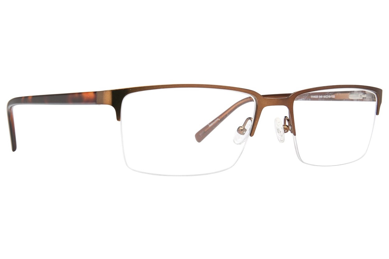 Viva VV4025 Brown Eyeglasses