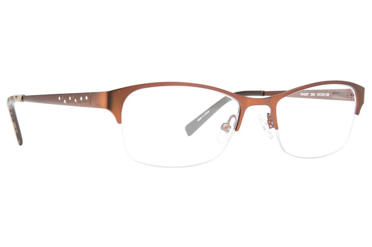 Viva VV4507 Brown Eyeglasses