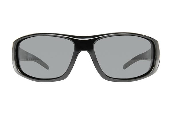 Ascent Eyewear 7186 Floating Sunglass Sunglasses - Black