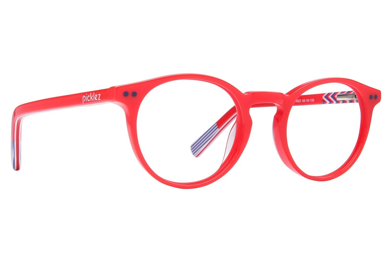 Picklez Baxter Eyeglasses - Red
