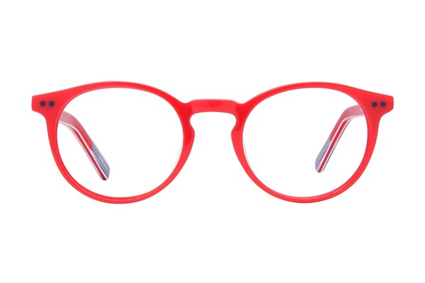 Picklez Baxter Red Eyeglasses